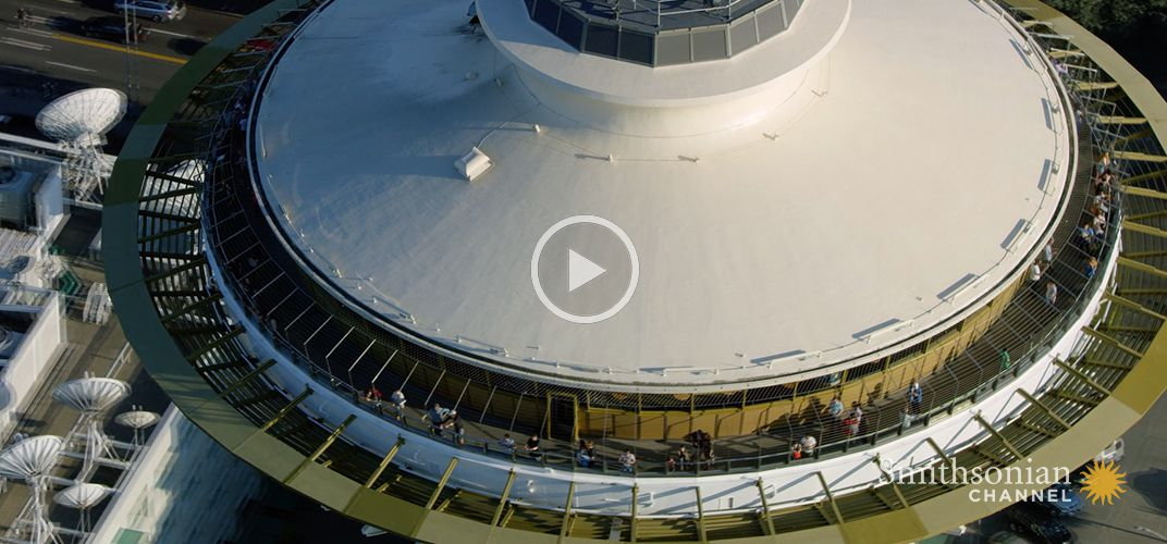 Caption: Space Needle Was Designed to Look Very Different