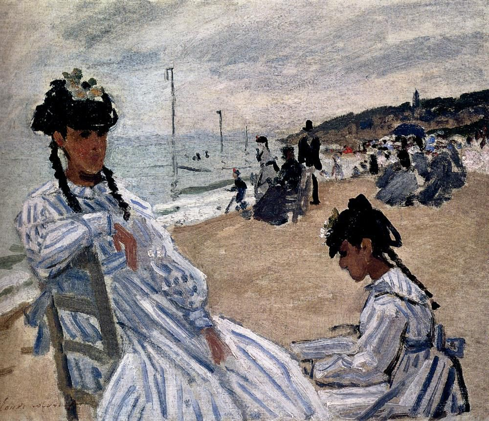 Claude Monet Beach Trouville