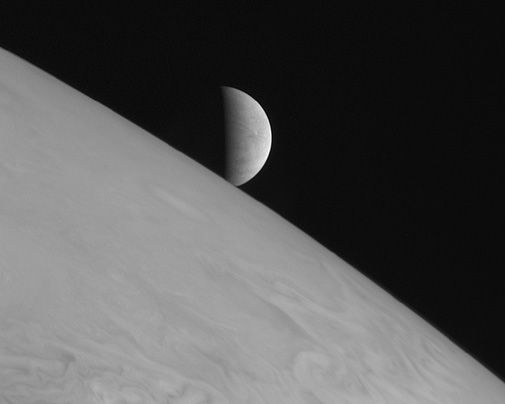 A view of Jupiter's moon wins the people's choice award.