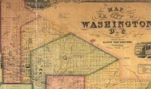 David Rumsey Map Collection Lincoln Memorial