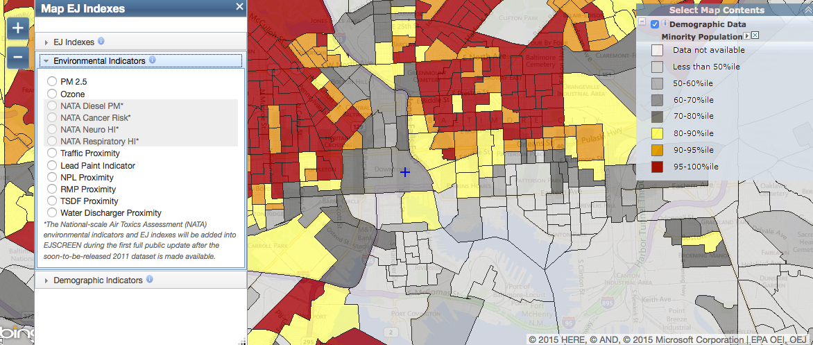 The EPA Has a New Tool For Mapping Where Pollution and ...