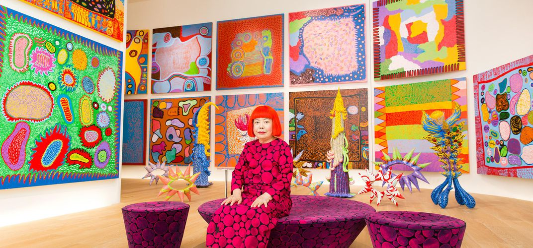 Caption: Celebrating the Legacy of Kusama