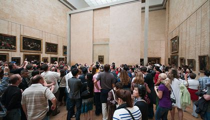 People Aren't Happy About Their Increasingly Brief Encounters With the 'Mona Lisa'