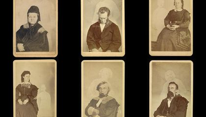 """Meet Mr. Mumler, the Man Who """"Captured"""" Lincoln's Ghost on Camera"""