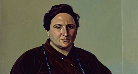 a visual biography of gertrude stein at the portrait gallery at