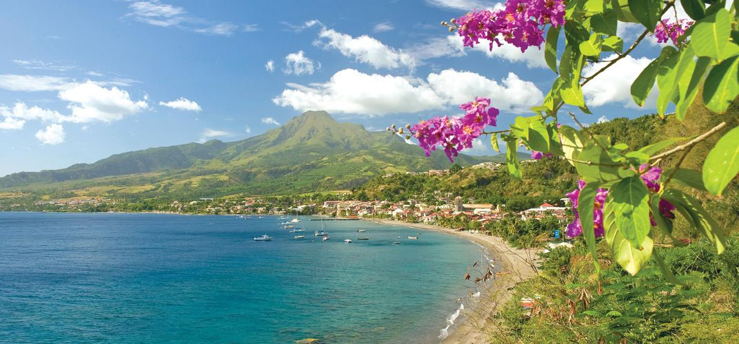 The island of Martinique