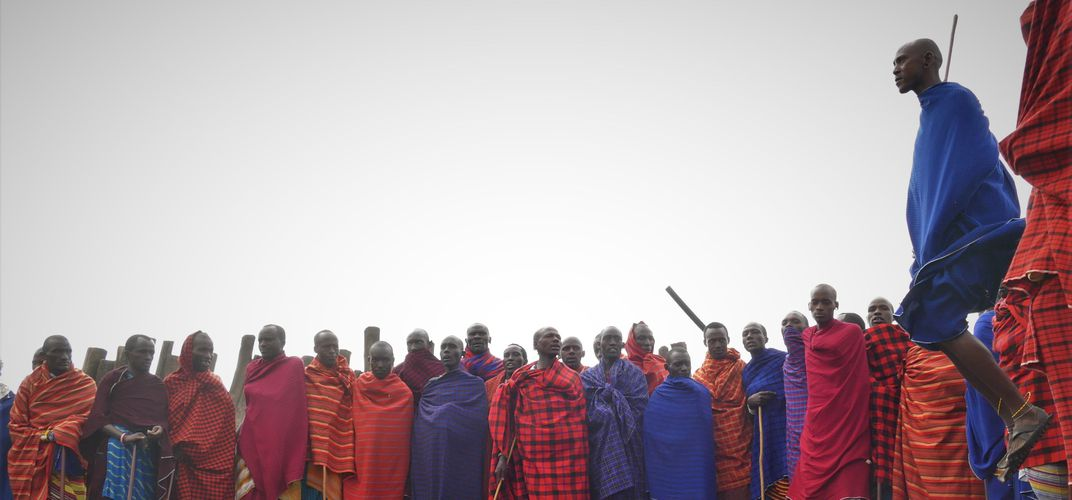 Traditional Maasai dance. Credit: Grant Nel