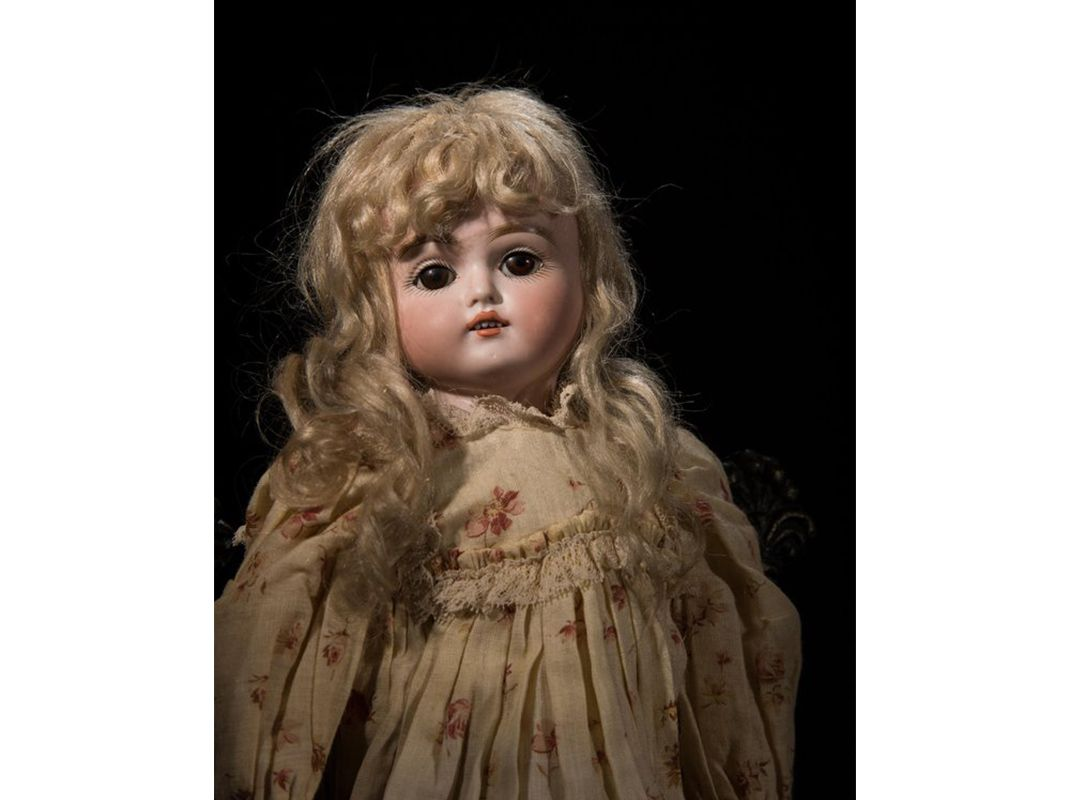 While This Doll From 1887 Sports An Angelic Face Her Stare Is Hauntingly Blank C Phil Lowe IStock Photo