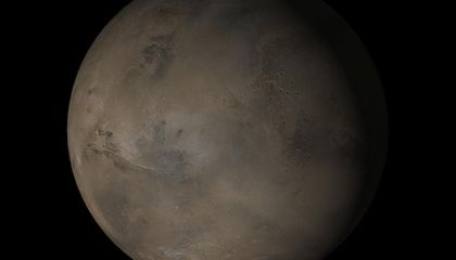 Briny Underground Lakes May Be All That Remain of Martian Ocean