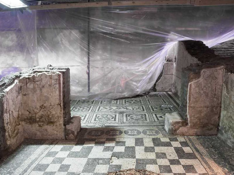 Ancient Rome Subway Map.Construction On Rome S Newest Subway Line Is Revealing A Trove Of