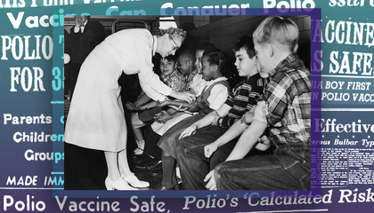 The Press Made the Polio Vaccine Trials Into a Public Spectacle