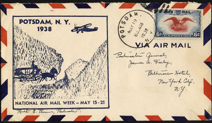 100 years of airmail history air space magazine