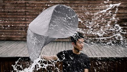 Image: Inventing the perfect umbrella