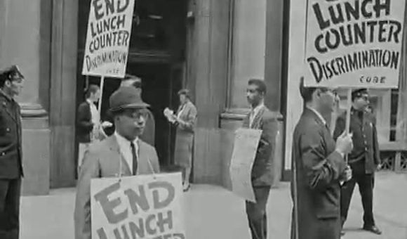 Preview thumbnail for video'Restaging the Greensboro Counter Sit-In