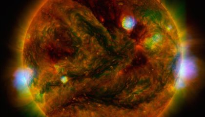 Here's What the Sun Looks Like Through an X-Ray Telescope