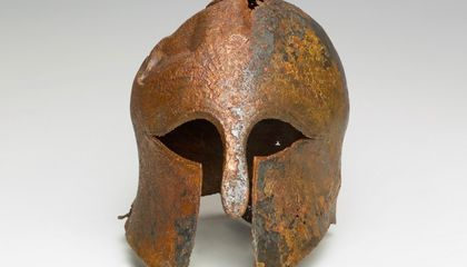 Was This Helmet Worn by an Ancient Greek Soldier During the Persian Wars?