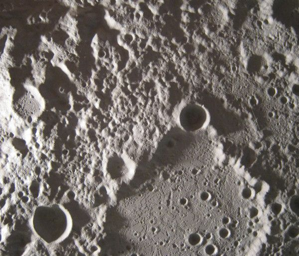 The north pole of the Moon: Real or facsimile?
