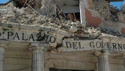 Italian Scientists May Face Trial for Not Predicting 2009 Earthquake