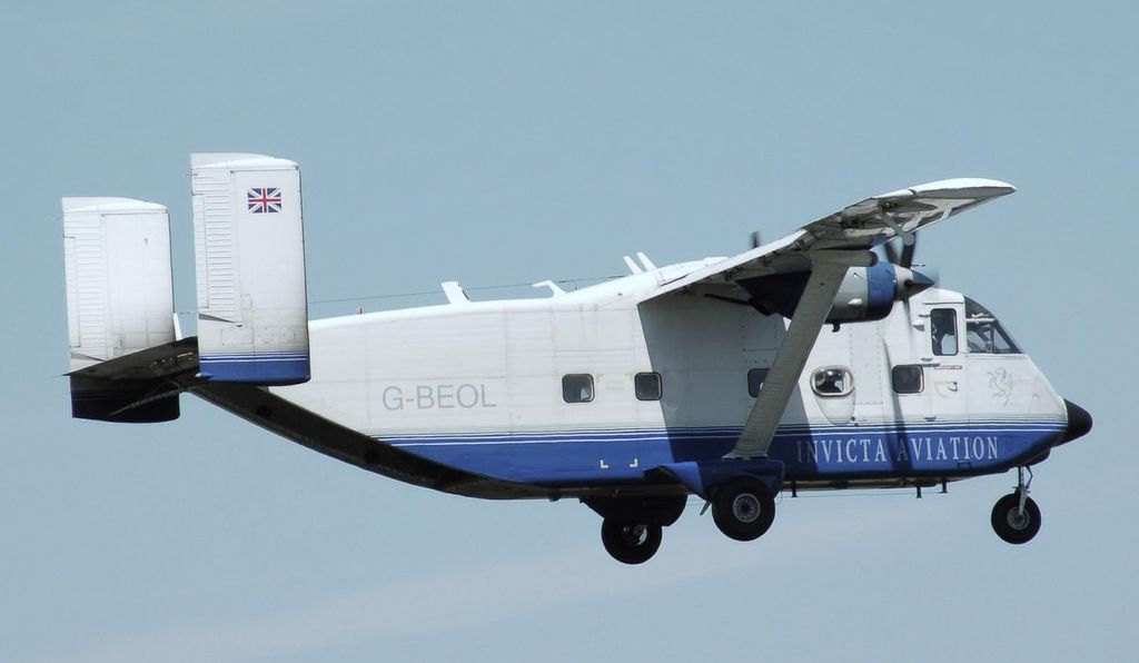 The Shorts Skyvan.