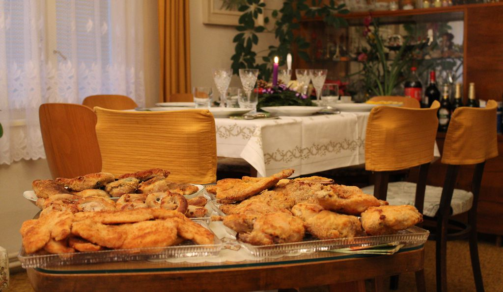 Fried carp is a staple at the Czech Christmas dinner table.
