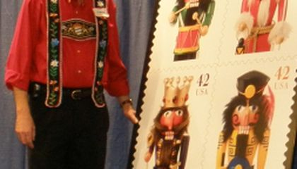 Nutcrackers at National Postal Museum