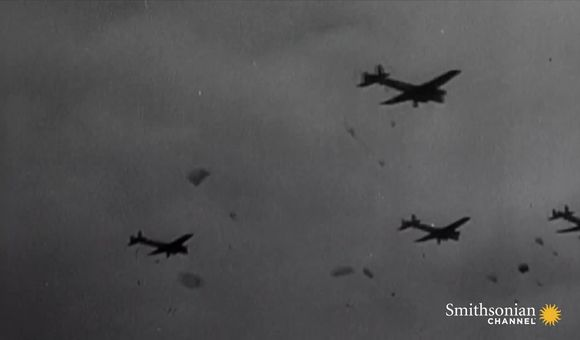 Preview thumbnail for video'Parachuting in WWII was a terrifying experience