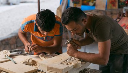 These Two Brothers Are Helping Keep Armenian's Stone Carving Tradition Alive