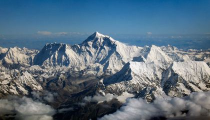 Mount Everest Formed Because of India's Relentless Push Against Asia