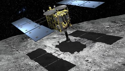 "Japanese ""People's Camera"" Bound for an Asteroid"