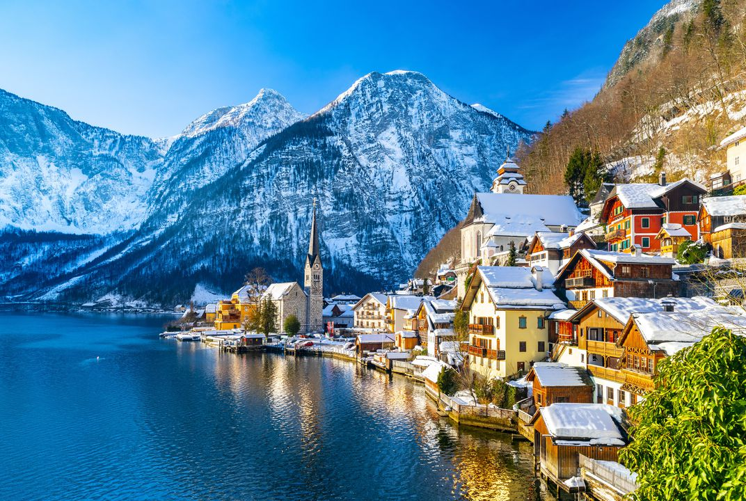 This Picturesque Austrian Town Is Being Overrun by 'Frozen' Fans
