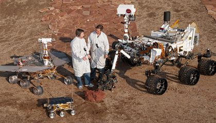 Think Mountain Time's Confusing? Try Living on Martian Time