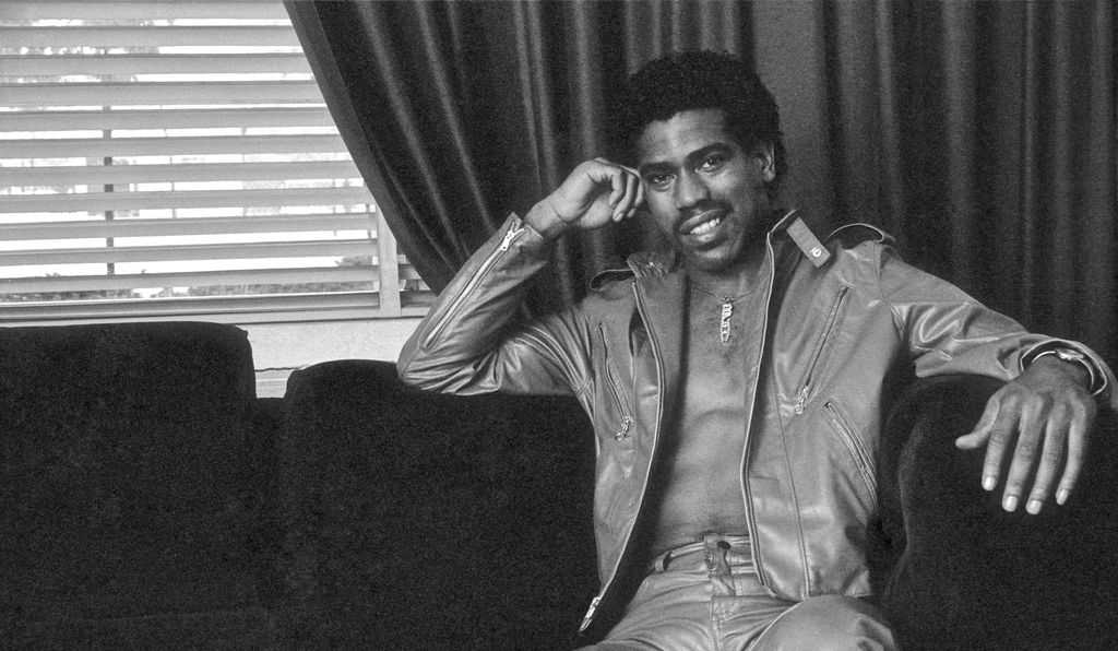 """The talented and ambitious Harlemite Kurtis Blow—born Curtis Walker (above ca. 1979)—said his role model was the actor, singer and civil rights activist Paul Robeson. """"Robeson was multi-talented so I plotted my life to be like that,"""" he says."""