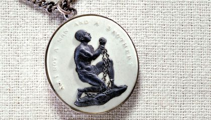This Anti-Slavery Jewelry Shows the Social Concerns (and the Technology) of Its Time