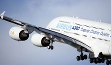 The giant airliner made its first flight two years ago today.