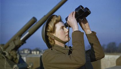 Check Out These Rare Color Images of World War II