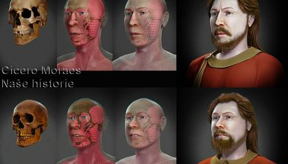 3-D Reconstructions Reveal the Faces of Two Medieval Dukes