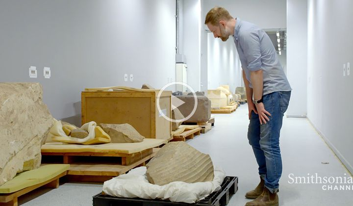 Rebuilding an Ancient Egyptian Statue