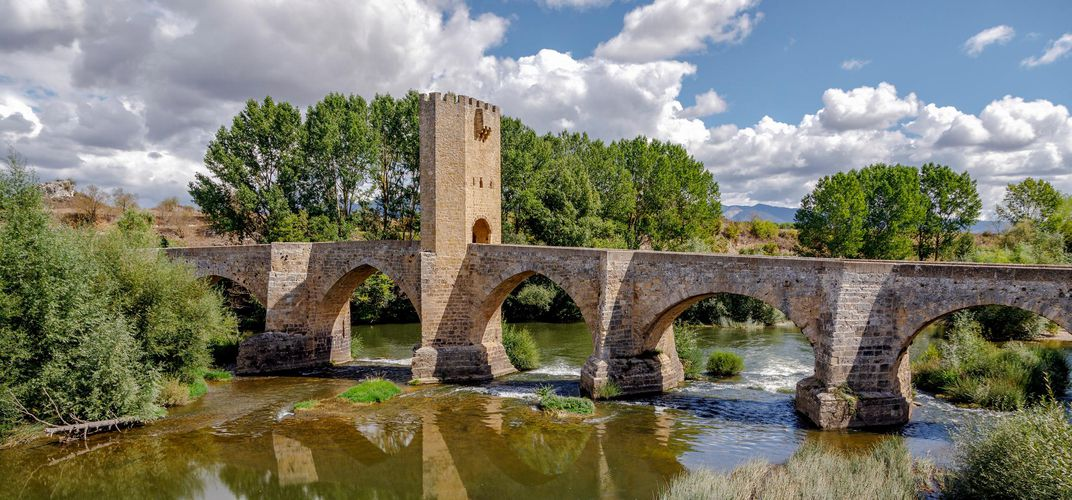 Medieval bridge outside Burgos