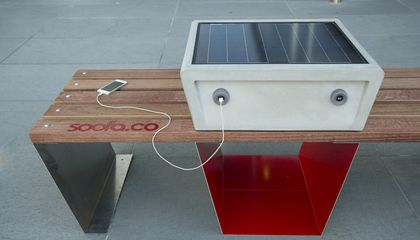 This Bench in Boston Will Charge Your Phone While It Collects Environmental Data