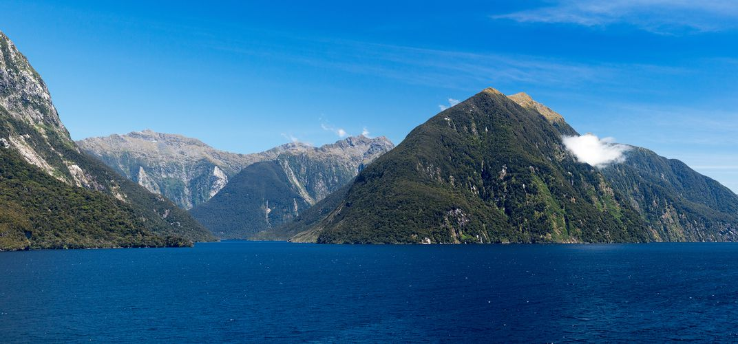 View of Doubtful Sound