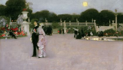 John Singer Sargent captures the pearly light of dusk in Paris