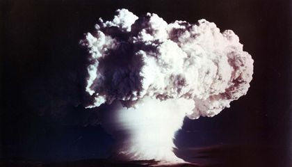 The First Hydrogen Bomb