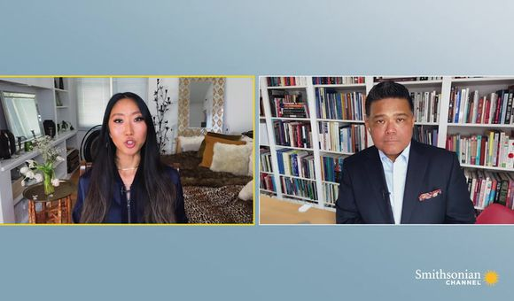 Preview thumbnail for video'Conversations in Context: Media Portrayals of the Asian American Experience