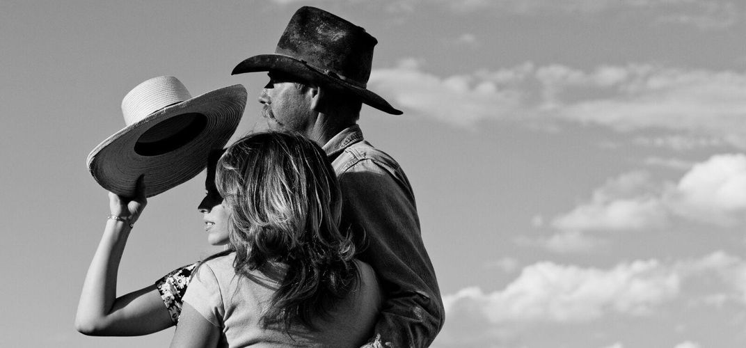Portraits on the range in black and white. Credit: Jennifer Spelman, Smithsonian Journeys Photography Expert