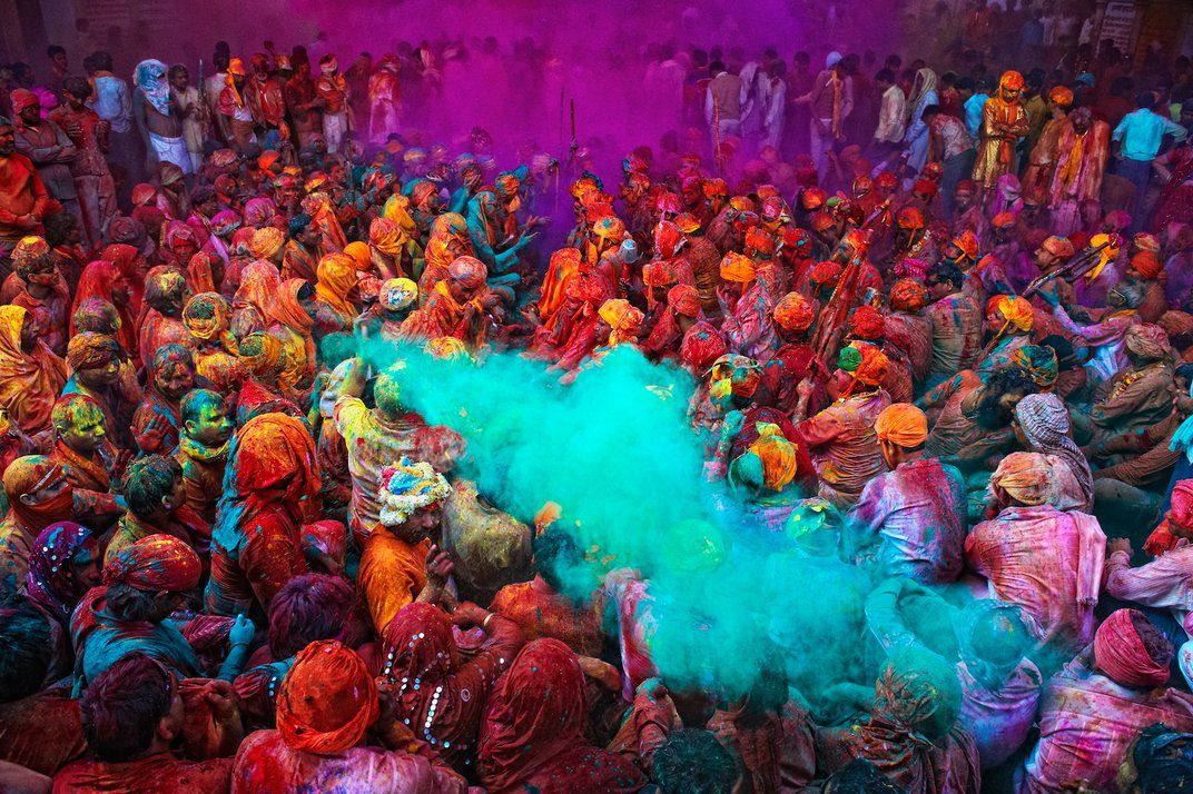 How To Write Science Essay During Holi People Crowd The Streets And Splash Brilliantly Colored Dyes  On Anyone Walking By Poras Chaudhary Smithsoniancom Photo Contest  Archives Persuasive Essay Sample Paper also Hamlet Essay Thesis The Meaning Behind The Many Colors Of Indias Holi Festival  Travel  Essay About English Class