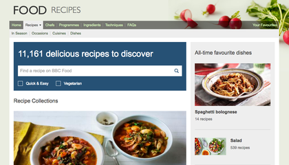 Thousands of People Are Trying to Save BBC's Recipe Archive