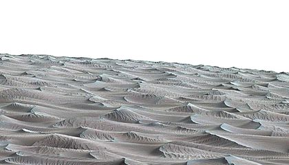 Curiosity Set to Explore Martian Sand Dunes