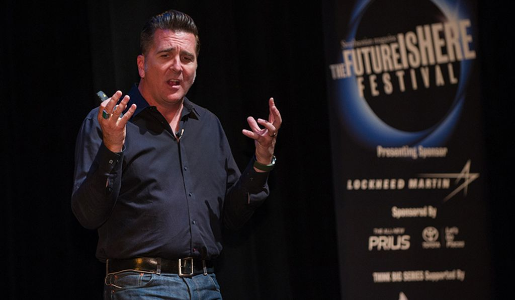 NASA engineer Adam Steltzner talked about the Mars 2020 project.