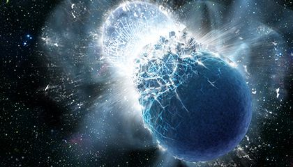 All the Gold in the Universe Could Come From the Collisions of Neutron Stars