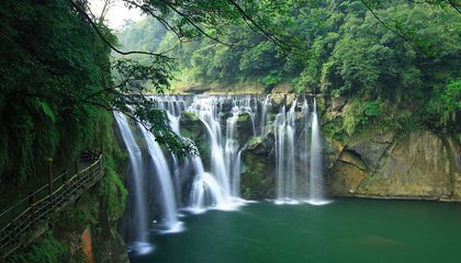 Shifen Waterfall